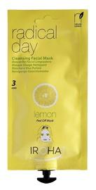 Sejas maska Iroha Nature Peel-Off Cleansing Creamy Facial Mask Radical Day Lemon, 25 ml