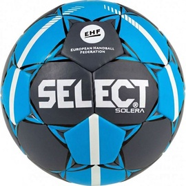 Select Solera Junior 2 Official EHF Ball 15976 Grey/Blue Size 2