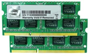 Operatīvā atmiņa (RAM) G.SKILL F3-1600C11D-8GSL DDR3 8 GB CL11 1600 MHz