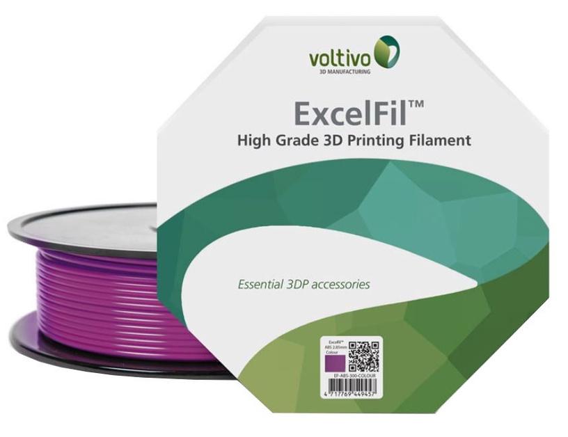 Voltivo ABS Filament Cartridge 1.75 mm Light Violet