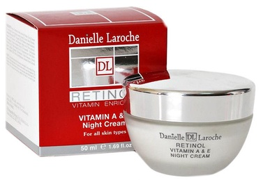 Sejas krēms Danielle Laroche Vitamin A & E Retinol Night Cream, 50 ml