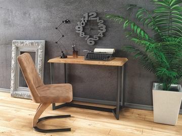 Консольный стол Halmar KN-3 Golden Oak/Black, 1100x350x800 мм