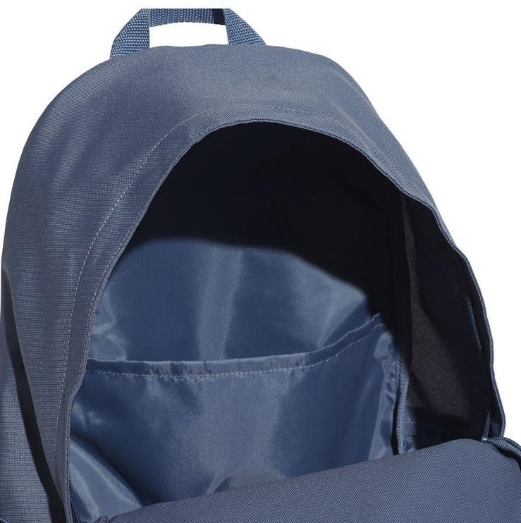 Рюкзак Adidas Linear Classic Casual Backpack ED0262, синий, 24.9 л