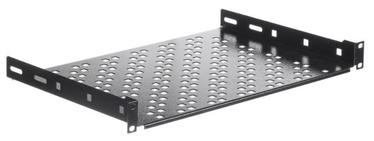 Plaukts Netrack Equipment Shelf 19'' 1U /300mm Black