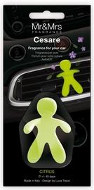 Mr & Mrs Fragrance Cesare Car Air Freshener 1pc Citrus