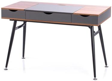 Homede Faryn Desk Walnut/Grey