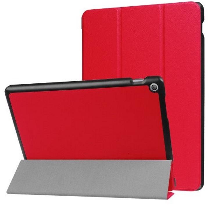 TakeMe Eco-leather Book Case For Asus Zenpad 10'' Z301MFL/Z301ML Red