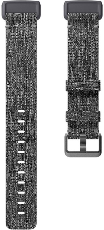 Fitbit Accessory Band For Fitbit Charge 3 L Charcoal