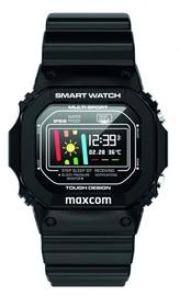 Viedais pulkstenis Maxcom FW22, melna