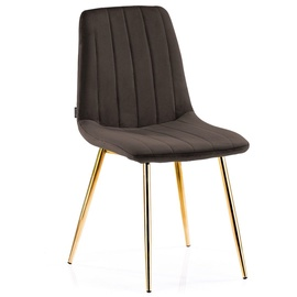 Homede Sarva Chairs 4pcs Brown