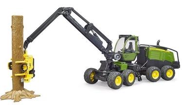 Bruder John Deere 1270G Harvester With One Trunk 02135