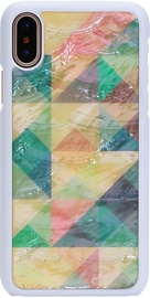 iKins Mosaic Back Case For Apple iPhone X/XS White