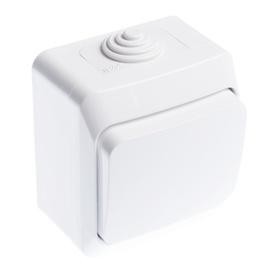 Slēdzis Schneider Electric Cedar Plus WDE000560 White