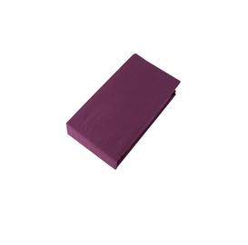 Простыня Domoletti Maroun Cherry, 90x200 см, на резинке