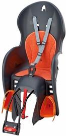 Детское кресло для велосипеда Prophete Wallaroo 658PP0005, oранжевый/серый, задняя