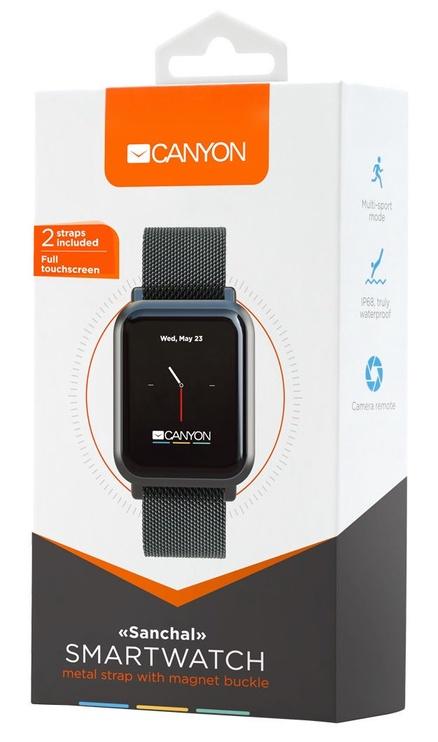 Viedpulkstenis Canyon Sanchal Smartwatch Black