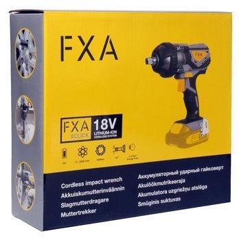 Uzgriežņu atslēga Fxa JD5082, 18 V, Xclick