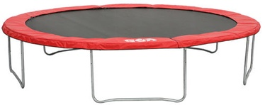 Batuts GSD Trampoline 4.25 Black/Red