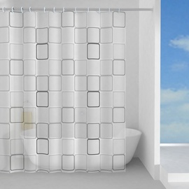 Gedy Domino Shower Curtains 180x200cm Multicolor