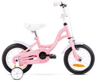 Bērnu velosipēds Romet Tom 12 7S Pink/White 2021