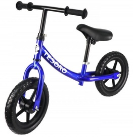 Tesoro PL-8 Balance Bike Blue Metallic