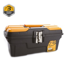 Forte Tools MG-16 Toolbox 434x194x239mm Black/Yellow