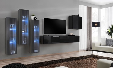 ASM Switch XIII Wall Unit Black/Graphite