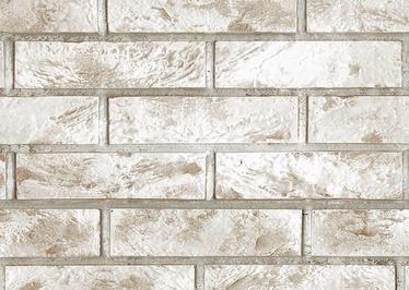 Vilo PVC Decoration Board Rusty Brick 0.25x2.65m White/Beige