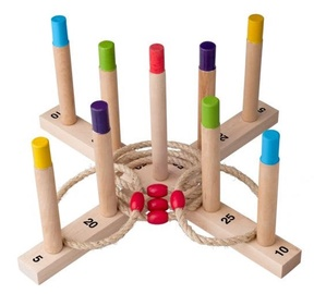 Woodyland Fun Hoopla Rings Game 91410