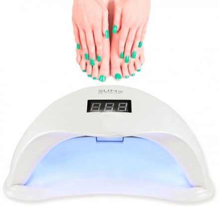 SUNUV SUN5 48W UV LED Nail Lamp White