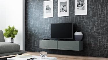 ТВ стол Cama Meble Vigo 140, серый, 1400x300x400 мм