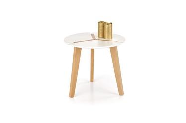 Kafijas galdiņš Halmar Zeta White, 500x500x450 mm