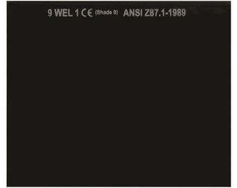 Vagner WH-GL90110 DIN9 Protective Welder Filter