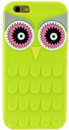 Zooky Soft 3D Back Case For Samsung Galaxy J1 J120F Owl Green