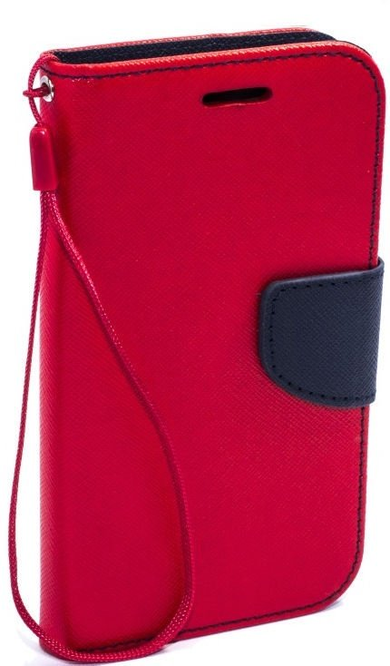 Telone Fancy Diary Bookstand Case For Huawei Ascend Y3 II Red/Blue