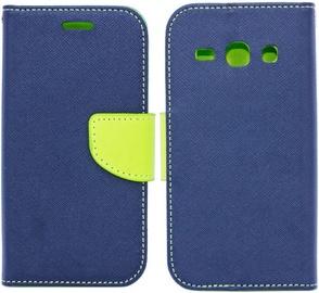 Telone Fancy Diary Bookstand Case For LG X Power K220 Blue/Light Green