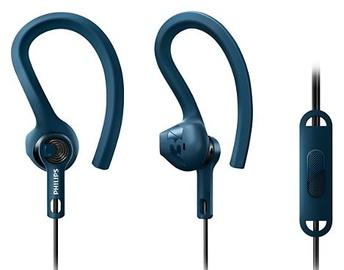 Austiņas Philips ActionFit SHQ1405 Blue