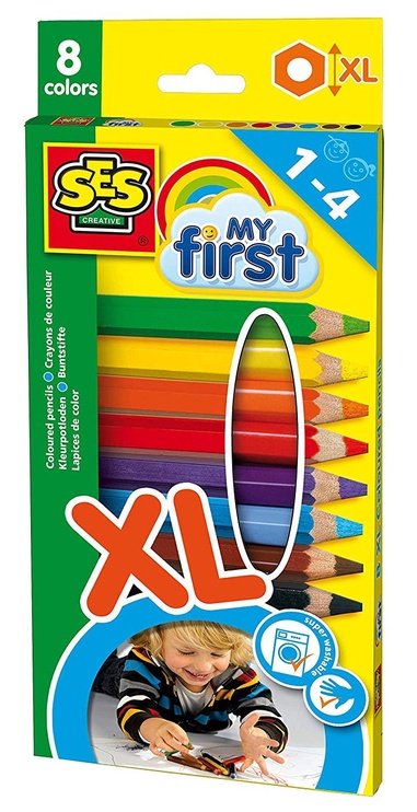 SES Creative My First XL Coloured Pencils 8pcs 14416