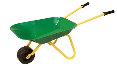 Woody Metal Garden Wheelbarrow 91455