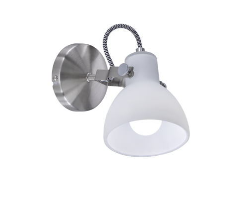 Trio Ginelli Spotlight Wall Lamp 28W E14 Nickel