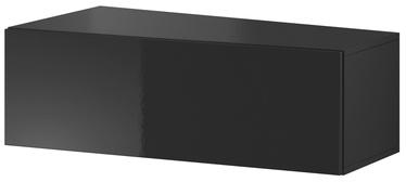 ТВ стол Cama Meble Vigo Slant 90, черный, 900x400x300 мм