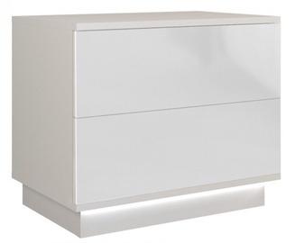 Ночной столик Top E Shop Sela S2, белый, 55x35x47 см
