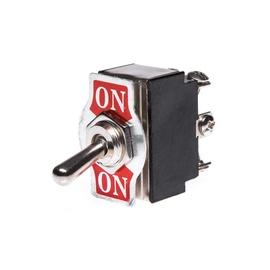 Control Switch KN3B-202 250V Silver/Black/Red