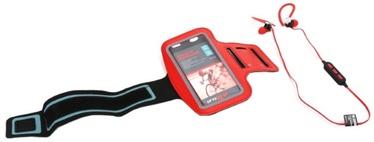 Наушники Platinet PM1075B Red, беспроводные