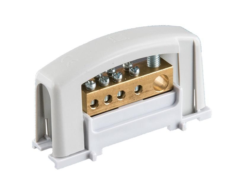Pawbol Contact Block E.4124SP, 1x25/4x10 mm²