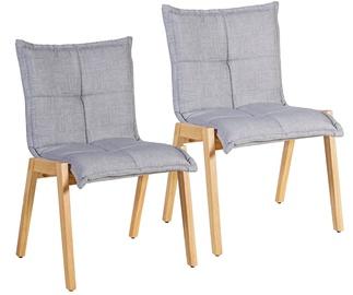 Ēdamistabas krēsls Home4you Razor Gray