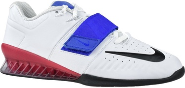 Nike Romaleos 3XD Shoes AO7987 104 White/Blue 44.5