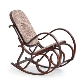 Atzveltnes krēsls Halmar Max 2 Walnut, 90x52x95 cm