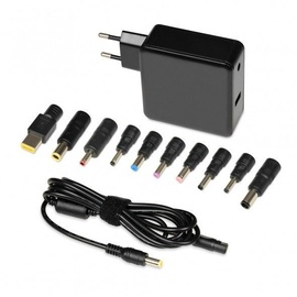 iBOX IUZ65WA Universal Notebook Power Adapter 65W Black