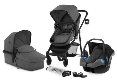 Коляска KinderKraft Juli 3 in 1 Gray
